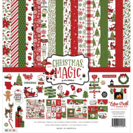 """659870 Echo Park Collection KitChristmas Magic  12""""X12"""""""