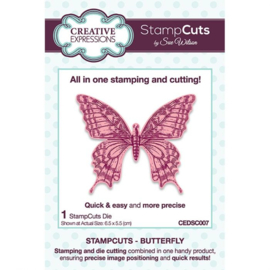 CEDSC007 Creative Expressions Stampcuts Butterfly