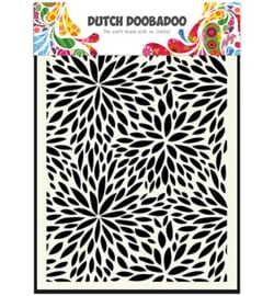 470.715.116 Dutch DooBaDoo Dutch Mask Art Floral Waves