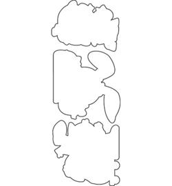 OD96 C.C.Designs snijmal Tiny Easter