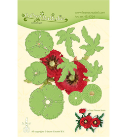 45.4704 LeCrea'Multi Die Cutting/Emb. Multi die flower 013 Klaproos
