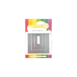 565825 Waffle Flower Die Picture Frames