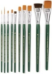 269095 One Stroke Brush Set 10 st.