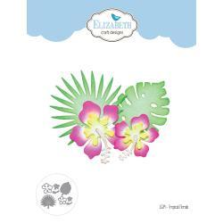 EC1539 Elizabeth Craft Metal Die Tropical Florals