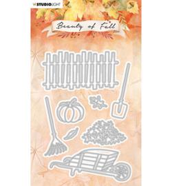 SL-BF-CD56 StudioLight Cutting Die Garden tools Beauty of Fall nr.56