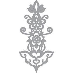 S4884 Spellbinders Shapeabilities Dies Rosemal Flowers