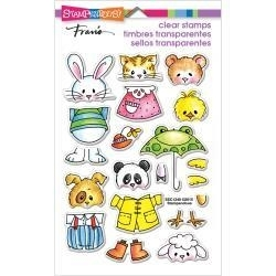 519001 Stampendous Perfectly Clear Stamps Spring Short Stack