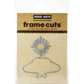 605549 Hero Arts Color Layering Frame Cut Dies Moth