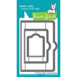 LF1439 Lawn Cuts Custom Craft Die Lift The Flap
