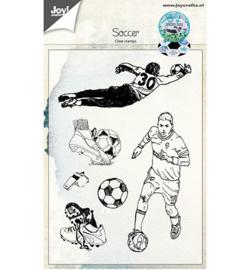 6410/0447 Stempel Voetbal