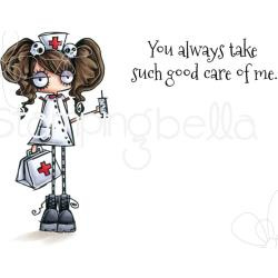 265800 Stamping Bella Cling Stamps Oddball Nurse