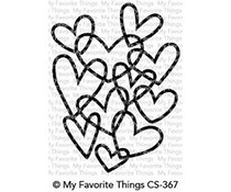 CS-367 My Favorite Things Stamp Hearts Entwined