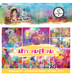 ABM-SFT-PP03 - ABM Paper Pad Arty Paper Pad So-Fish-Ticated nr.3