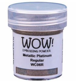 WC06R Wow! Metallic powder Platinum