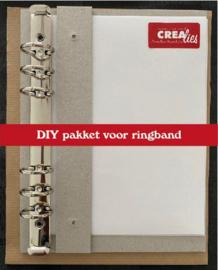 115635/4799  Crealies Journalzz & Pl DIY Plannerpakket CLJP799 23x18x3cm