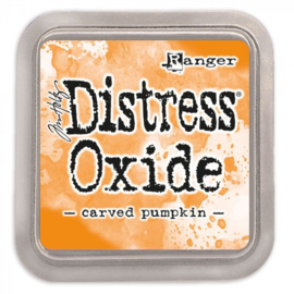 TDO55877 Ranger Tim Holtz distress oxide carved pumpkin