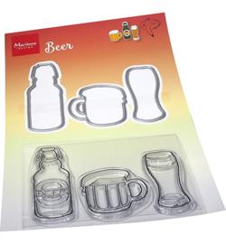HT1664 Marianne Design Hetty's Beer