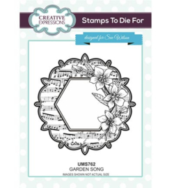 UMS762 Stamps To Die For Larkspur Script