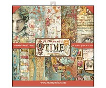 SBBL33 Stamperia Time is an Illusion 12x12 Inch Paper Pad