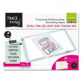 3009-261 Vaessen Creative led lightpad A4 white