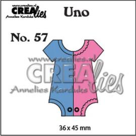 115634/0957 Crealies Uno nr. 57 Romper(klein)