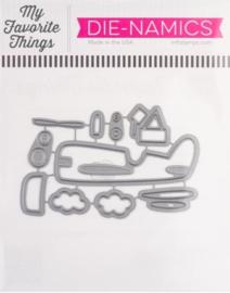 MFT1966 My Favorite Things Die-namics Die Amazing Airplane
