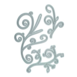 2429E Tonic Studios Die Essentials Fanciful Frond Die Set