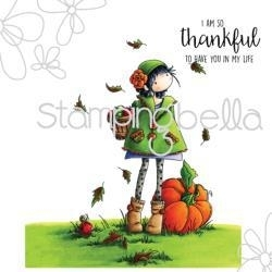 512688 Stamping Bella Cling Rubber Stamp Tiny Townie Fay Loves Fall