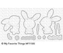 MFT-1505 My Favorite Things Sweetest Somebunny Die-Namics