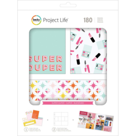 565942 Project Life Value Kit Super Duper 180/Pkg