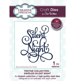CED3155 The Festive Collection Swirled Silent Night
