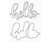 MFT-1561 My Favorite Things Little Hello Die-namics