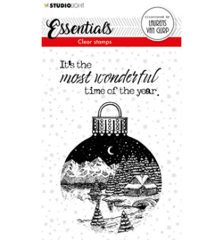 BL-ES-STAMP116 - BL Clear stamp Christmas Ball Essentials nr.116