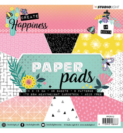 PPCR112 Paper Pad Create Happiness nr.112