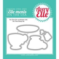 125501 Elle-Ments Dies Tea Time