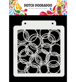 470.715.179 Dutch DooBaDoo Dutch Mask Art Grunge Circles