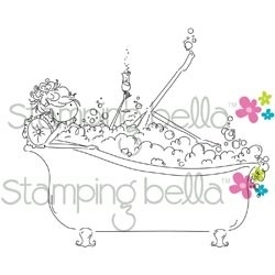 465823 Stamping Bella Uptown Girl Bubbles Loves Her Bubbly