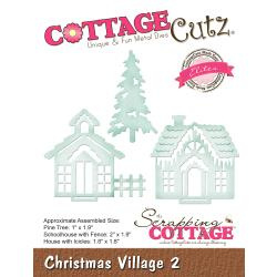 "540415 CottageCutz Elites Die Christmas Village 2 1.8"" To 2"""