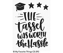 CS-293 My Favorite Things Tassel Time Clear Stamps