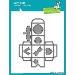 LF1485  Lawn Cuts Custom Craft Dies Tiny Gift Box