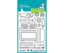 LF1214 Lawn Fawn Clear Stamps Sprinkled With Joy