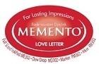 222120 Memento Full Size Dye Inkpad Love Letter