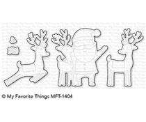 MFT-1404 My Favorite Things Santa & Friends Die-Namics