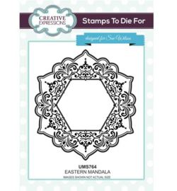 UMS764 Stamps To Die For Eastern Mandala