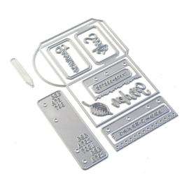 EC1838 Elizabeth Craft Metal Die Sidekick Essentials 16