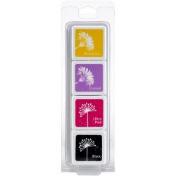388496  Hero Arts Dye Ink Cubes 4 Colors Swallowtail Layering