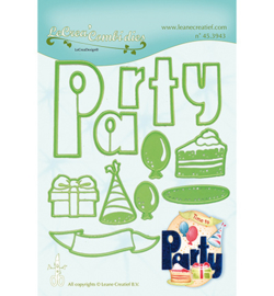 45.3943 LeCrea'Multi Die Cutting/Emb. Party combi