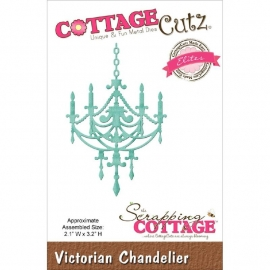 "423152 CottageCutz Elites Die Victorian Chandelier, 2.1""X3.2"""