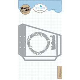 EC1609 Elizabeth Craft Metal Die Planner Pocket 2