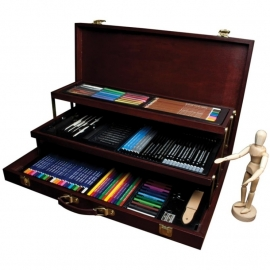 132653 Premier Sketching & Drawing Chest 134 Pieces